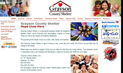 Grayson County Shelter